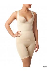 Комплект майка + шорты с сильным корректирующим эффектом для женщин UINKZ021209