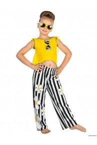 Пляжный комплект для девочек (брюки+топ) GX 011610 AF Chloe