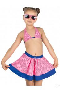Купальник для девочек (бюст, плавки, юбка) GMU 011607 Domestica