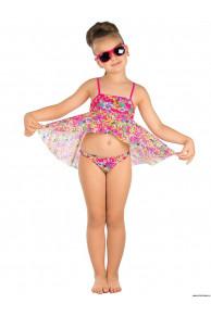 Пляжный комплект для девочек (топ+плавки) GPQ 031602 AF Harriet