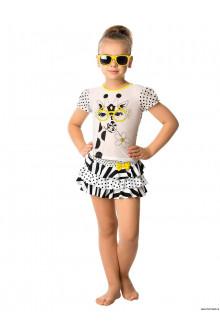 Пляжный комплект для девочек (юбка+топ) CY 011609 AF Christina