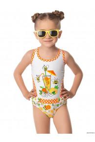 Купальник для девочек GI 041604 Orange sherbet