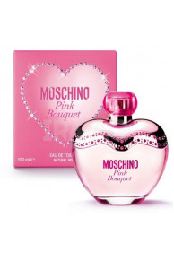 Туалетная вода Moschino Pink Bouquet for women EDT (30 мл)