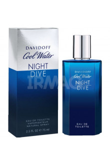 Туалетная вода Davidoff Cool Water Night Dive for men EDT (75 мл)