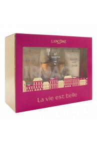 Набор Lancome La Vie Est Belle (парфюмированная вода + лосьон для тела + гель для душа)
