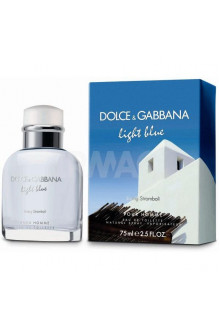 Туалетная вода Dolce & Gabbana Light Blue pour Homme Living Stromboli EDT (75 мл)