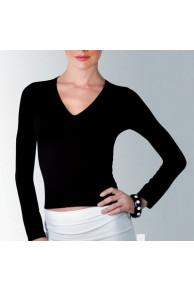 T-SHIRT ALABAMA Блуза жен V вырез (д/рук)
