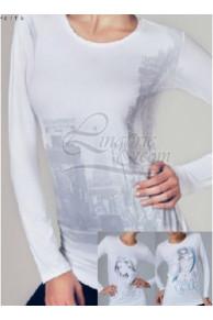 4290 футболка жен. дл.рукав