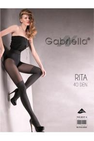 RITA 40 колготки жен (имитация ботфорт)
