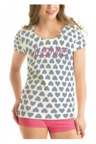 269169п Комплект жен. (футболка+шорты)
