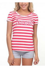 269170п Комплект жен. (футболка+шорты)